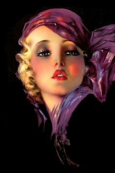 Rolf Armstrong Paintings | photo size: medium 500
