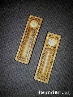 Zahnstocherhalter aus Leder / Leather toothpick holder