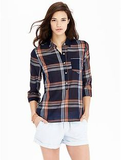Women's Plaid Pullovers | Old Navy