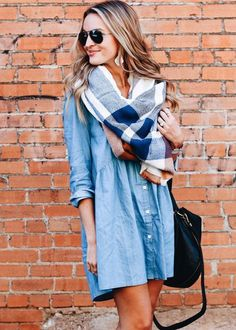 Many fashionistas love unique denim pieces like short skirts, full denim dresses, and even denim tank tops (yes, they exist!).