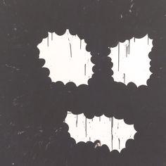 "Amy Feldman, Wild Thing, 2012, acrylic on canvas, 80"" x 80"" (detail)"