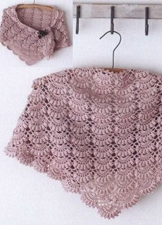 Kira scheme crochet: Scheme crochet no. Beautiful crochet shawl with charts The triangular scarf Very beautiful shawl. Such beauty is suitable for any occasion ! Poncho Crochet, Mode Crochet, Crochet Shawls And Wraps, Knitted Shawls, Crochet Scarves, Lace Knitting, Crochet Motif, Crochet Yarn, Crochet Clothes