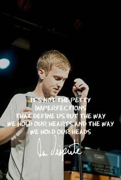 I don't anyone truly understands how meaningful the lyrics of La Dispute are to me Band Quotes, Lyric Quotes, Words Quotes, Music Is My Escape, Music Is Life, La Dispute Lyrics, Whatever Forever, Love Band, Sing To Me