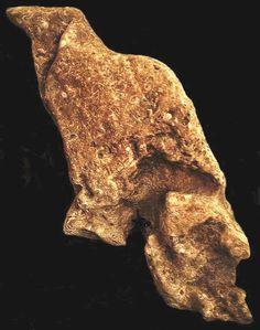 Sandstone(?) Figure from Great Serpent Mound - Alan Skelly Find