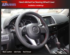 BANNIS Black Artificial Leather DIY Hand-stitched Steering Wheel Cover for Old Mazda 3 Mazda 5 Mazda 6 Pentium B70USD 18.86/pieceBANNIS Black Artificial Leather DIY Hand-stitched Steering Wheel Cover for 2011-2013 Mazda 3 Mazda CX7USD 18.86/pieceBANNIS Black Artificial Leather DIY Hand-stitched Steering Wheel Cover for Old Mazda 6 2009 Mazda 6USD 18.