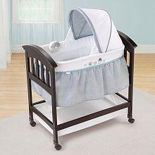 "Summer Infant Classic Comfort Wood Bassinet - Turtle Tale - Summer Infant - Babies""R""Us"