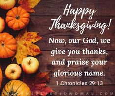 10 Days of Thanksgiving – Day 10: Happy Thanksgiving!