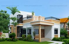 3 Concepts Of 3 Bedroom Bungalow House.One Storey House Design 2015002 Pinoy House Designs. Mateo Four Bedroom Two Story House Plan Pinoy House Plans. The Golden Ways Modern Bungalow House Plans, Bungalow Haus Design, House Floor Plans, Bungalow Designs, Two Storey House Plans, One Storey House, Simple House Design, Modern House Design, Deck Design