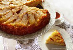 Torta Invertida de manzana. Super fácil y rápida. #Receta