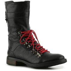 GC Shoes Punk Rock Boot ($40) ❤ liked on Polyvore featuring shoes, boots, styles under $60, punk rock shoes, punk shoes, punk rock boots, gc shoes and punk boots