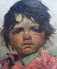 Maison d'enchères en ligne Catawiki: Jeanne Brandsma ( 1902-1992 ) - Portret van een jochie