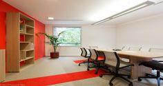 Meeting room into the premises of Merisant in Paris, France