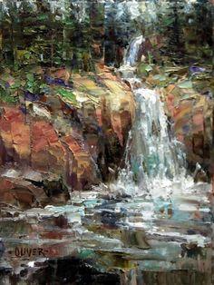 Waterfall at Sylvan Pass - Yellowstone. -- Julie Ford Oliver