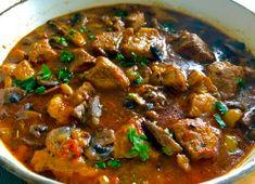 Gulasz kozacki - Blog z apetytem Smoothie Bowl, Smoothies, Polish Recipes, Polish Food, Stew, Food And Drink, Meat, Cooking, Breakfast