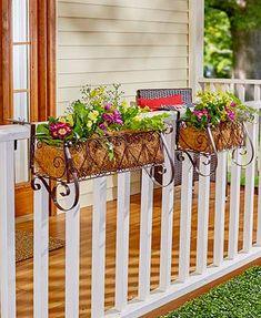 4 METAL GARDEN LADYBUGS Wall Gate Fence Porch Patio Balcony Deck Flower Bed Art