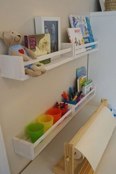 Craft Room Tables, Ikea Craft Room, Craft Rooms, Ikea Kids Playroom, Playroom Decor, Playroom Ideas, Kids Decor, Ikea Handwerksraum, Baby Room Boy