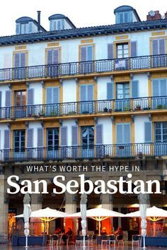 San Sebastian is filled with things to do and delicious things to eat. Here's what we think is worth doing in this magical city! #sansebastian #spaintravel #spain #basquecountry