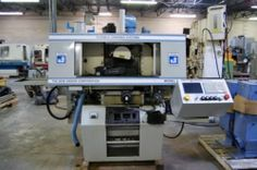 2008 Unison 2150A CNC 3 Axis Centerless Grinder / Flexible Grinding System