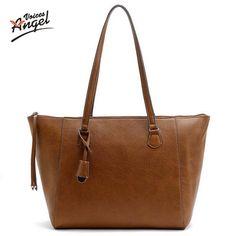 $33.32 (Buy here: https://alitems.com/g/1e8d114494ebda23ff8b16525dc3e8/?i=5&ulp=https%3A%2F%2Fwww.aliexpress.com%2Fitem%2FLuxury-Bag-Women-Designer-Handbags-High-Quality-Women-Famous-Brand-Fashion-Leather-Handbags-Brown-2016-Messenger%2F32684084352.html ) Luxury Bag Women Designer Handbags High Quality Women Famous Brand Fashion Leather Handbags Brown 2016 Messenger Bags Large Size for just $33.32