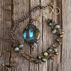 Scry of Galway Medieval Woodlands Necklace by TalinkaAndCo, $79.00