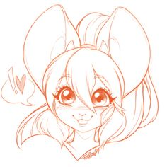 Pollo-Chan - Another Batch of head shot sketches! <3 ...