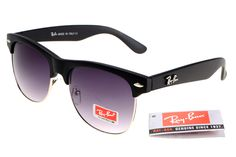 $14.70 Save: 88% offRay-Ban Clubmaster 95005 Black Frame Gray Lens RB1301
