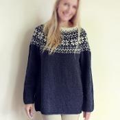 Norwegian Woods Sweater - via @Craftsy