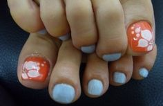 Awesome Toenail Styles, Wonderful with Acrylic Toenails Designs, very cute for summer. :)