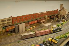 CNY&NE Maywood Engine Service   Model Railroad Hobbyist magazine ...
