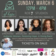 I'm looking forward to attending the @handbagsofhope Charity Event hosted by @melangemode15 in a few weeks.  One out of every 4 homeless women is homeless because of violence committed against her and that strikes a chord with the women who are banding together for next months Handbags of Hope Beauty & Wellness Expo in Hoboken NJ.  Close to 100 people are expected to come out to hear beauty & wellness influencers share their tips and personal stories of empowerment during a power brunch…