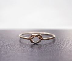 Rose Gold - Love Knot - Uncovet