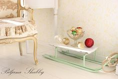 Biljana Shabby Vintage Sled, Shabby Chic Furniture, Home Decor, Decoration Home, Room Decor, Interior Decorating