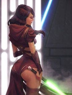 Two pics of sexy Jedis that will make you say... - Album on Imgur
