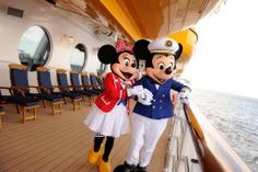 Captain Mickey and his sweetheart