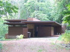 Goetsch-Winckler House. 1940, Okemos, Michigan. Frank Lloyd Wright. Usonian Home
