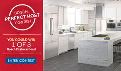 I just entered the Bosch Perfect Host Contest!