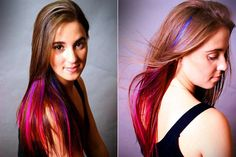 """Why must my work's dress code call for """"natural"""" hair color? Why yes, I am a natural blue and pink and yellow."""