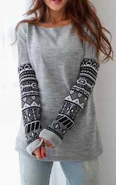 All Day Long Indian Sweatshirt