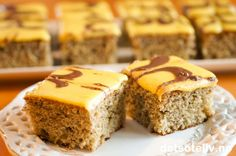Delicious Cake Recipes, Yummy Cakes, Yummy Food, Recipe Boards, Afternoon Snacks, Dessert Bars, Let Them Eat Cake, Banana Bread, Meals