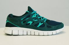 Nike Free Run+ 2 Dark Atomic Teal/Dark Atomic Teal ... How many times have we covered the Nike Free Run+ ...