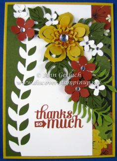 Botanical Bloom sneak peek | Discover Ink – Ann Gerlach Independent Stampin' Up!® Demonstrator