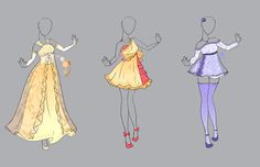 .::Outfit Adopt Set 13(CLOSED)::. by Scarlett-Knight on DeviantArt