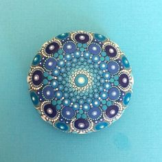 Mandala Stone (Medium) by KimberlyVallee on Etsy https://www.etsy.com/au/listing/512822298/mandala-stone-medium