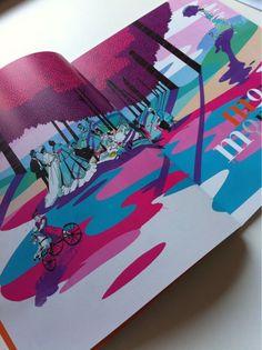 Illustration about Monet for French Children's Art Magazine DADA by Pietari Posti