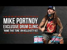 "Mike Portnoy e a Hello Kitty | Uhttp://www.updateordie.com/2015/10/06/mike-portnoy-e-a-hello-kitty/ ""Name that Tune"" #activation"