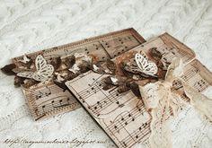 """Шкатулка Аси Мищенко: """"Ноты+рамка+бабочка"""" = конверты для денежных подарков.. и еще обязательно почитайте в конце по Ванечку!!!"""