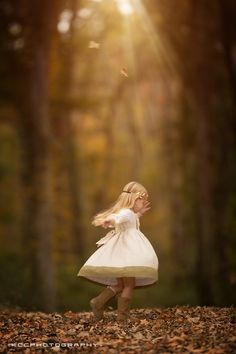 Twirling in the Forest