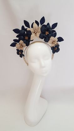 Millinery By Mel. This would be an amazing addition to an extreme loo. Millinery By Mel. This would be an amazing addition to an extreme look. Millinery Hats, Fascinator Hats, Fascinators, Headpieces, Fashion Accessories, Hair Accessories, Fancy Hats, Posh Girl, Tiaras And Crowns