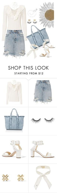 """""""Bringing Out The Best In Me """" by jacque-reid ❤ liked on Polyvore featuring Exclusive for Intermix, Ksubi, Barneys New York, tarte, Jimmy Choo, Givenchy, barneys, modaoperandi, netaporter and intermixonline"""