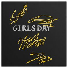 """GIRL'S DAY """"AUTOGRAPH"""""""